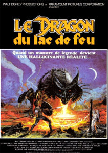 Le dragon du lac de feu Dragonslayer Walt Disney