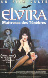 Affiche film Elvira maitresse des tenebres film culte
