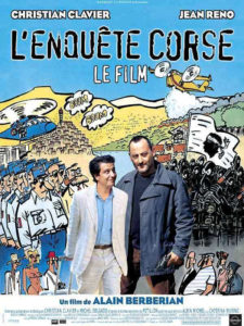 Affiche film Enquête corse Alain Berberian Christian Clavier Jean Reno