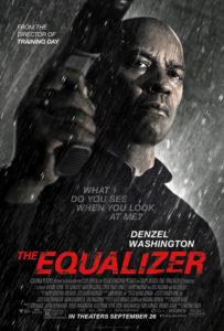 Affiche film The Equalizer Denzel Washington