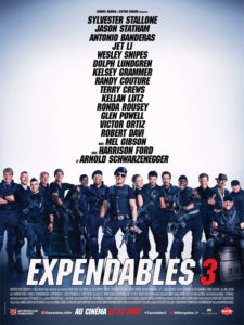 Affiche film Expendables 3