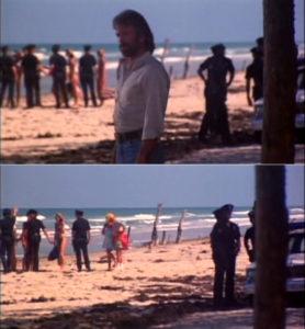 Invasion USA Chuck Norris plage