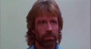 Invasion USA Chuck Norris blessure