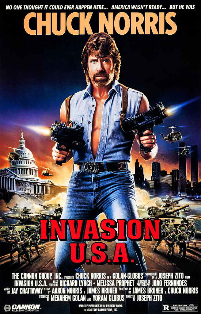 Invasion USA Chuck Norris Un K à part