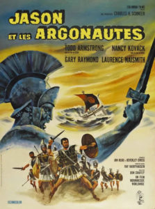 Affiche film peplum Jason et les Argonautes