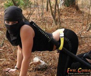 Kunoichi ninja girl