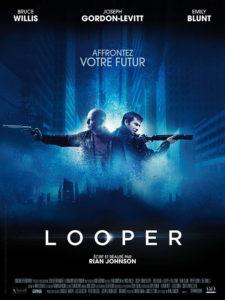 Affiche film SF Looper