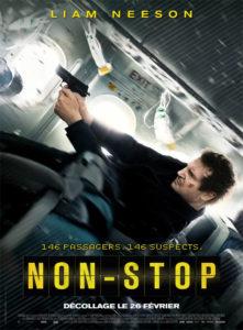 Affiche film Non-stop Liam Neeson