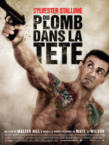 Affiche film Du plomb dans la tête Sylvester Stallone