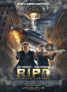 Affiche film RIPD Jeff Bridges Ryan Reynolds