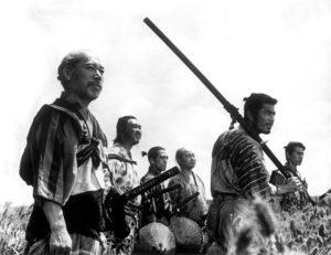 Six samourais