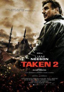 Affiche film Taken 2 Olivier Megaton Liam Neeson