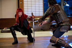 Wolverine combat ninja manga samourai