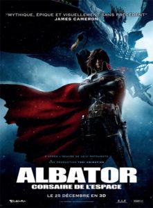 Affiche Albator corsaire de l'espace Space pirate captain Harlock
