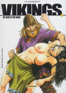 Couverture Vikings de sexe et de sang Hugdebert Sybaris
