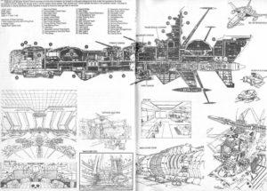 Albator plan Arcadia
