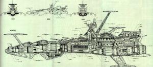 Albator plan Atlantis