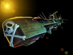Albator vaisseau Atlantis