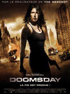 Affiche film Doomsday Neil Marshall Rhona Mitra virus epidémie