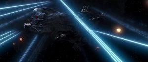 Space Pirate Captain Harlock vaisseau spatial bataille