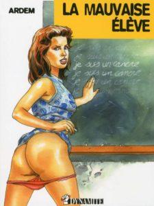 Couverture La mauvaise élève Confessions érotiques Mathilde Ardem Dynamite
