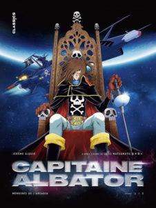 Capitaine Albator Mémoires de l'Arcadia Jérôme Alquié