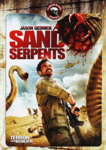 Jaquette Sand Serpents Les sables de l'enfer