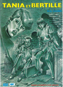 Couverture Tania et Bertille Colber bande dessinée pour adultes