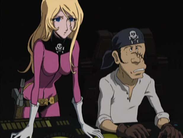 Harlock Endless Odyssey pirates Yuki Kei