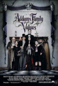 Affiche film Les valeurs de la famille Addams