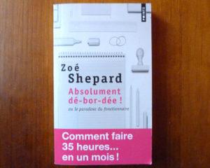 Couverture Absolument dé-bor-dée Zoé Shepard Points