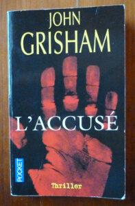Couverture roman L'accusé John Grisham Pocket