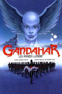 Affiche film Gandahar René Laloux Caza