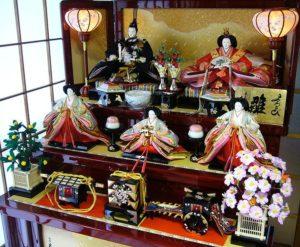 Hina Matsuri fête des poupées