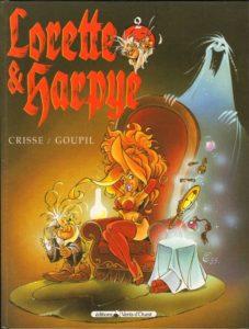Lorette et Harpye bande dessinée Crisse Goupil Vents d'Ouest tome 2