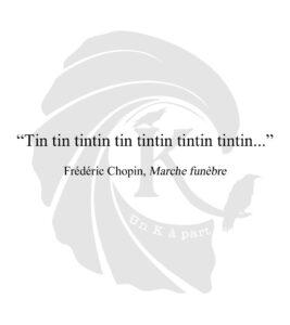 Marche funèbre Frédéric Chopin