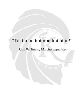 Marche impériale John Williams