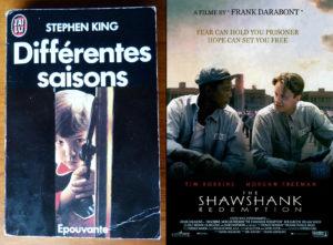 Stephen King The Shawshank Redemption Les évadés