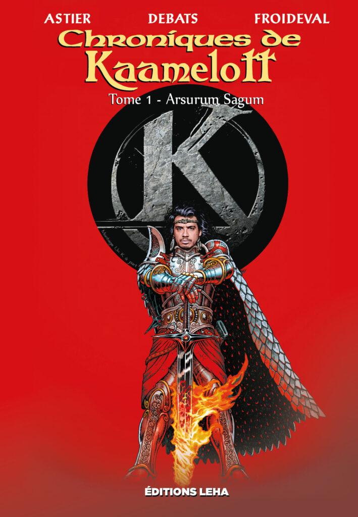 Les chroniques de Kaamelott Arthur Excalibur