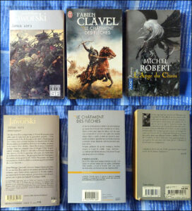 Collection Folio SF J'ai Lu Pocket Fantasy