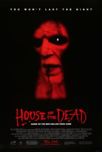House of the Dead film zombie Uwe Boll 2003