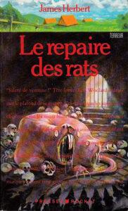 Le repaire des rats James Herbert Presses Pocket Terreur