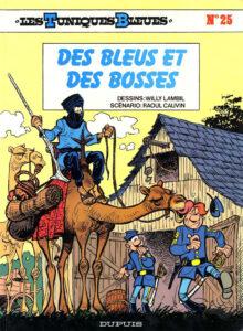 Les Tuniques Bleues 25 Des Bleus et des bosses Willy Lambil Raoul Cauvin Dupuis BD