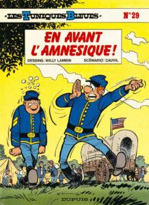 Les Tuniques Bleues 29 En avant l'amnésique ! Willy Lambil Raoul Cauvin Dupuis BD
