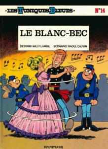 Les Tuniques Bleues 14 Le blanc-bec Willy Lambil Raoul Cauvin Dupuis BD