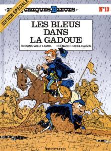 Les Tuniques Bleues 13 Les Bleus dans la gadoue Willy Lambil Raoul Cauvin Dupuis BD