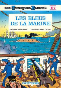 Les Tuniques Bleues 7 Les Bleus de la marine Willy Lambil Raoul Cauvin Dupuis BD