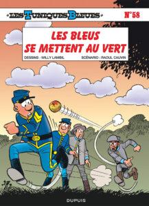Les Tuniques Bleues 58 Les Bleus se mettent au vert Willy Lambil Raoul Cauvin Dupuis BD