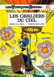 Les Tuniques Bleues 8 Les cavaliers du ciel Willy Lambil Raoul Cauvin Dupuis BD