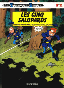 Les Tuniques Bleues 21 Les cinq salopards Willy Lambil Raoul Cauvin Dupuis BD
